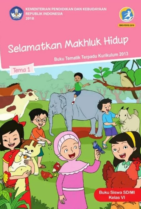 buku pjok kelas 6 kurikulum 2013